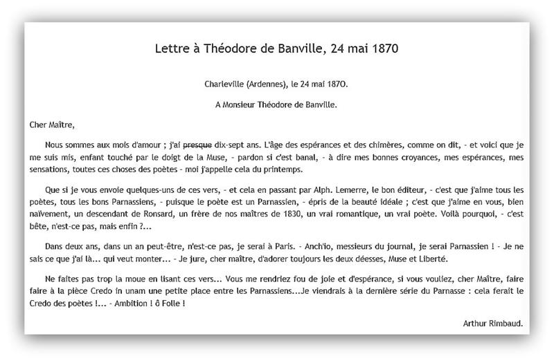 Arthur Rimbaud Libres Chroniques